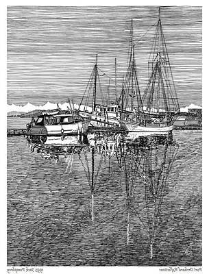 Port Orchard Marina Poster