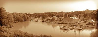 Port Stanley Waterway Poster
