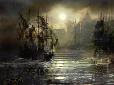 Port Tortuga Poster