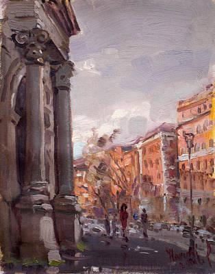 Porta Pia Rome Poster