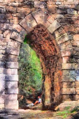 Portal Into Summertime Poster by Lynne Jenkins