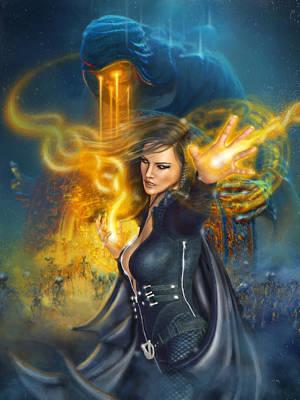 Portal Magician Poster