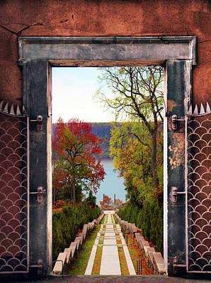 Portal To Autumn Poster
