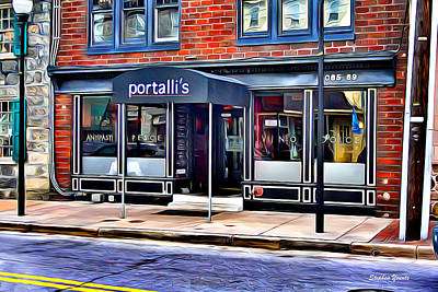 Portalli's Poster by Stephen Younts