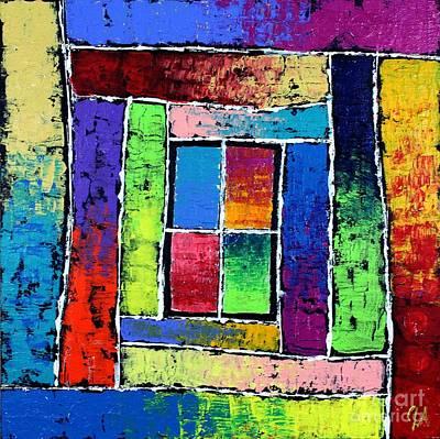Portals To Window Poster by Jeremy Aiyadurai