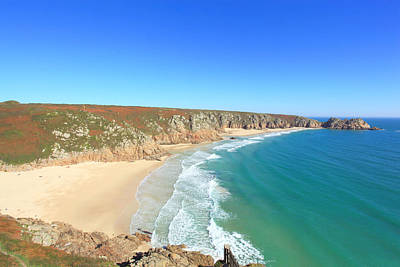 Porthcurno Poster