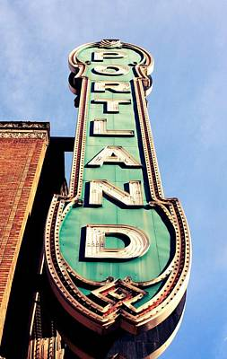 Portland Poster by Cathie Tyler