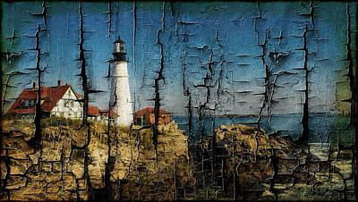 Portland Head Lighthouse 5 Poster by Sherman Perry