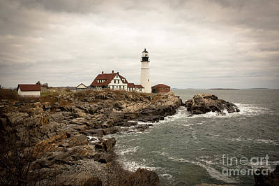 Portland Head Lighthouse Poster by A New Focus Photography