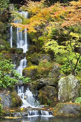 Portland Japanese Garden, Portland Poster by Craig Tuttle