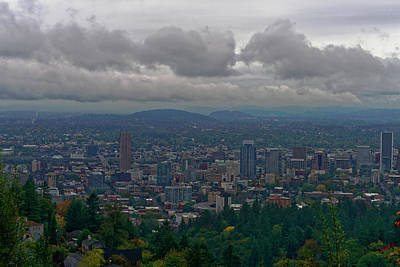 Portland Overlook Poster by Jonathan Davison