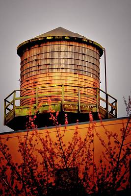 Portland Water Tower IIi Poster