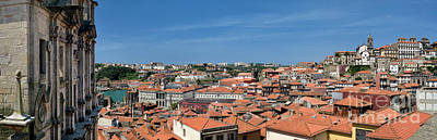 Porto Rooftops Poster