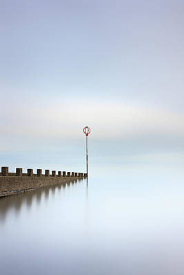 Poster featuring the photograph Portobello Long Exposure by Grant Glendinning