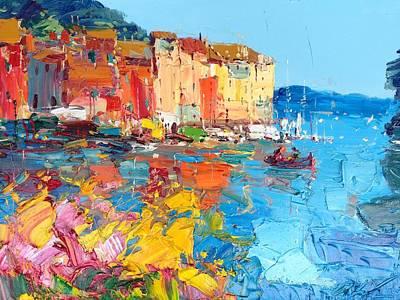 Portofino Poster by Agostino Veroni