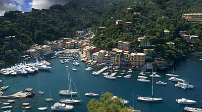 Portofino In Tuscany Poster by Al Hurley