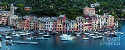 Portofino Panoramic Poster
