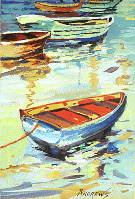 Portofino Passage Poster by Rae Andrews