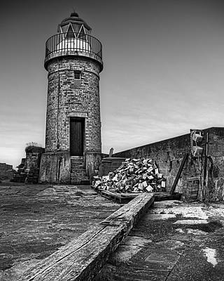 Portpatrick Lighthouse Poster by Tim Haynes
