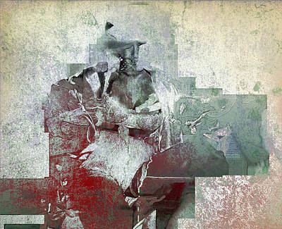 Poster featuring the photograph Portrait Abstract Variation #04 by Richard Wiggins