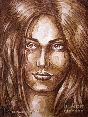 Portrait I Poster by Yonan Fayez