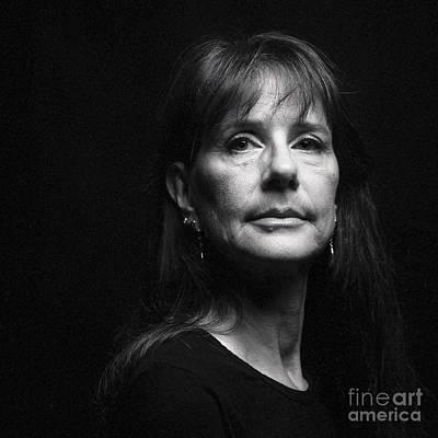 Portrait In Black Poster by Shawn Jeffries