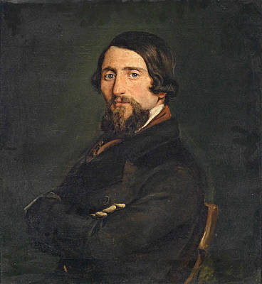 Portrait Of A Gentleman Poster by Francesco Hayez