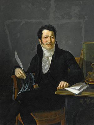 Portrait Of A Gentleman  Probably The Chevalier De Vernegues Poster