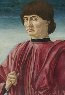 Portrait Of A Man Poster by Andrea del Castagno