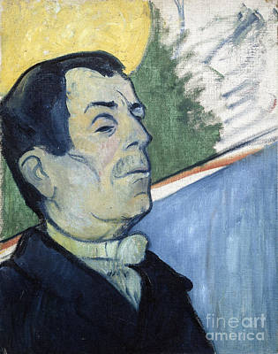 Portrait Of A Man Poster by Gauguin