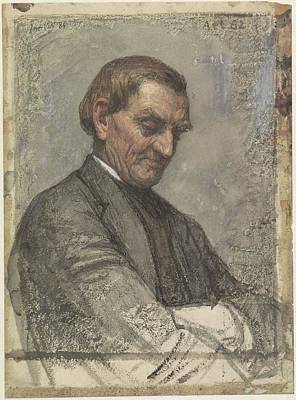 Portrait Of A Man, With Beaten Down Look, Jan, 1884 Poster by Celestial Images