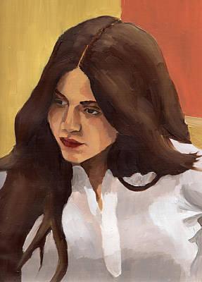 Portrait Of Amelia Poster