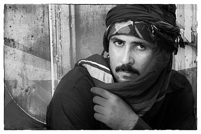 Portrait Of An Arab Man Poster