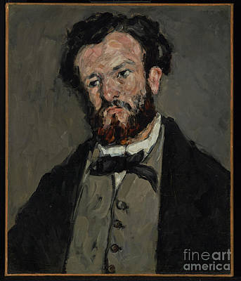 Portrait Of Anthony Valabregue By Paul Cezanne Poster