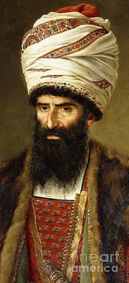 Portrait Of Asghar Khan, Ambassador Of Persia, 1808 Poster