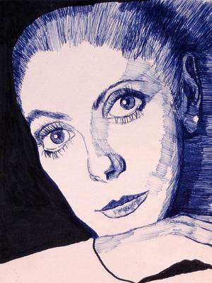 Portrait Of Catherine Poster