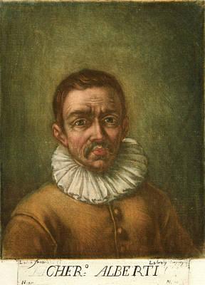 Portrait Of Cherubini Alberti Poster