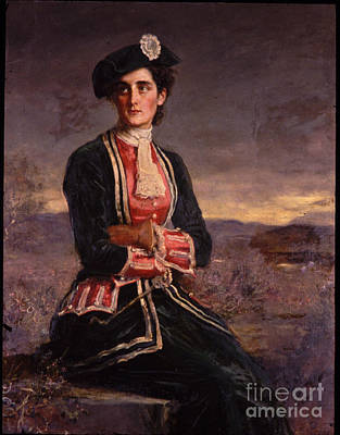 Portrait Of Diana Vernon Poster