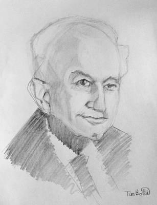 Portrait Of Dr. Ernest Holmes Poster