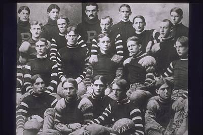 Portrait Of Football Team, 1900s Poster