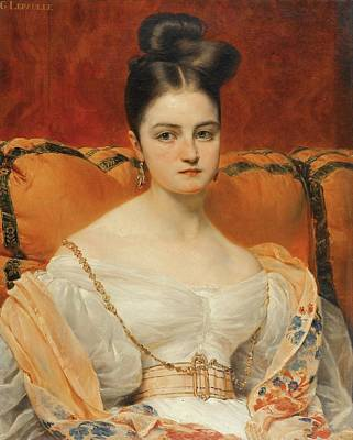 Portrait Of Henriette Grevedon   Poster