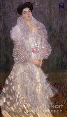 Portrait Of Hermine Gallia, By Gustav Klimt, 1904, National Gall Poster
