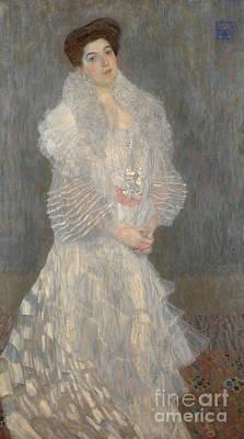 Portrait Of Hermine Gallia Poster
