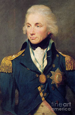 Portrait Of Horatio Nelson Poster by Lemuel Francis Abbott