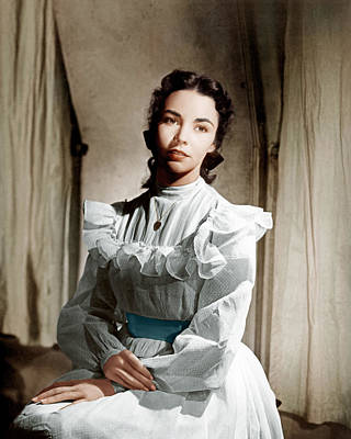 Portrait Of Jennie, Jennifer Jones, 1948 Poster by Everett