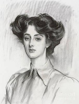 Portrait Of Lady Elsie Meyer, February 1908 Poster