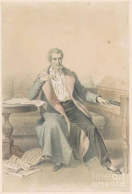 Portrait Of Luigi Cherubini  Poster