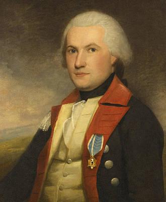 Portrait Of Major James Fairlie Poster by Ralph Earl