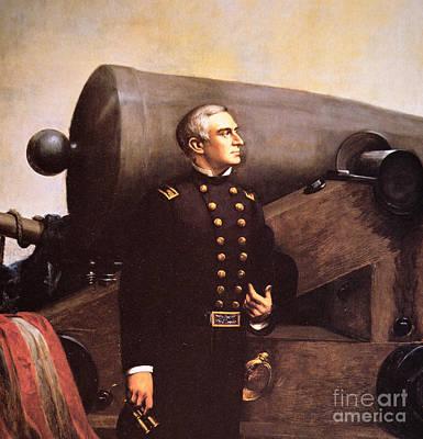 Portrait Of Major Robert Anderson Poster