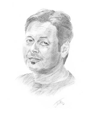 Portrait Of Man Poster